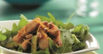 Groene-salade-avocado-tilapia