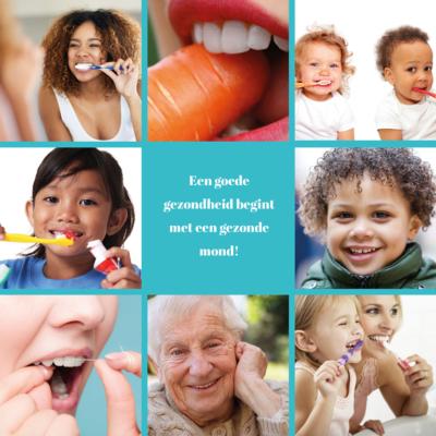 Een goede gezondheid begint met een gezonde mond